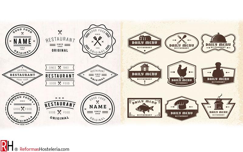 Logos Marcas Diseño Bar Restaurante Hostelería